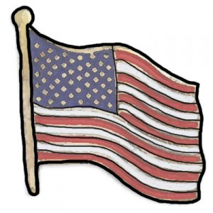I Don't Understand American Flag Lapel Pins